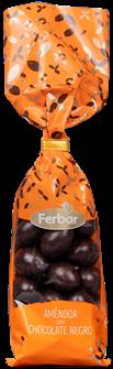 Glasierte Mandeln mit Zartbitterschokolade - Amêndoas com Chocolate Negro 160gr.