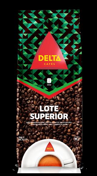 Röstkaffee, ganze Bohne - Café Delta Superior