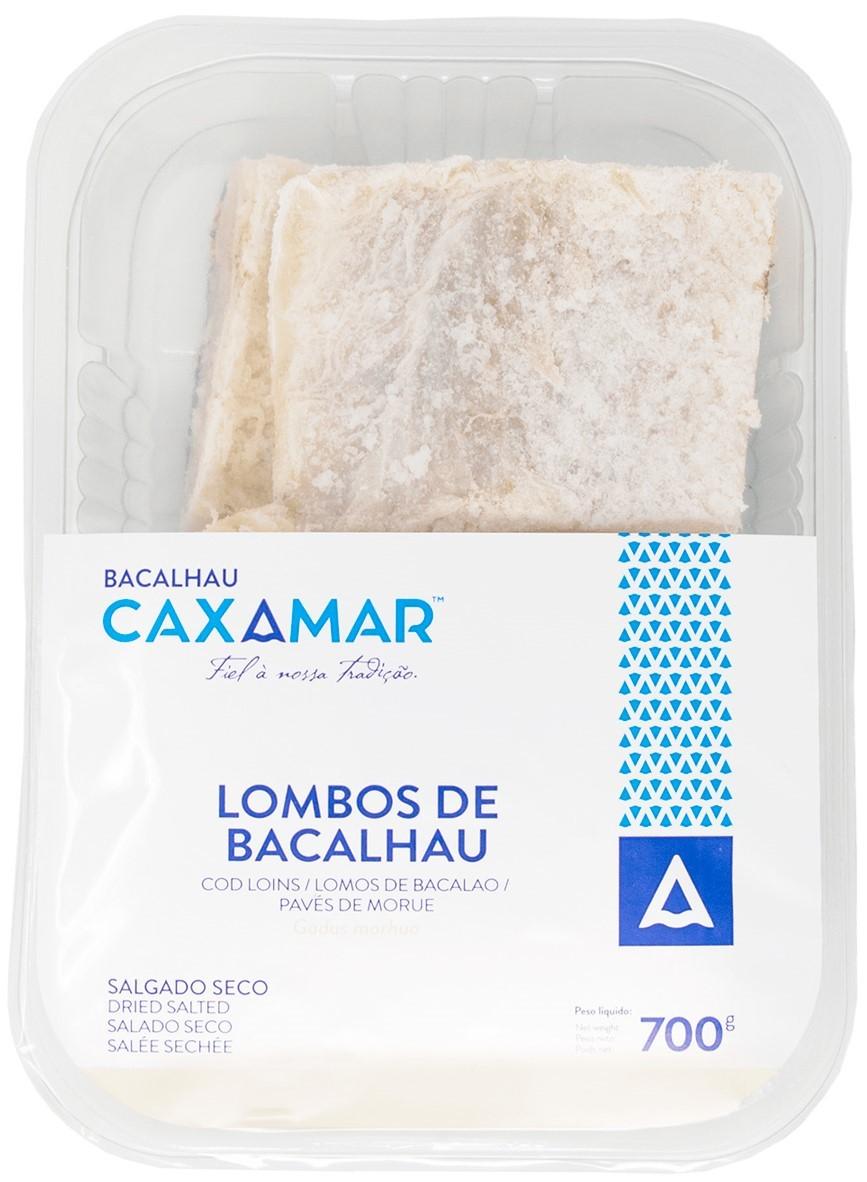 Kabeljau-Lenden - Lombos de Bacalhau 700gr. - Caxamar - Portugal