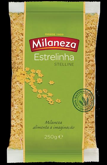 Massa Estrelinha - Hartweizennudeln 250gr. - Milaneza - Portugal