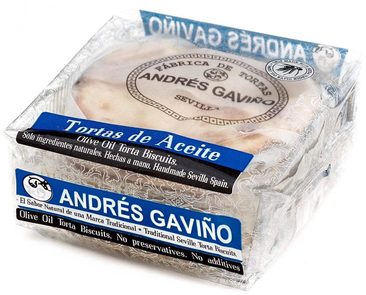 Traditionelles Gebäck mit Olivenöl - Tortas de Aceite Tradicional - Spanien