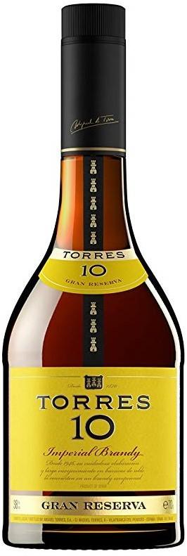 Brandy Torres 10 Imperial Gran Reserva - Spanien
