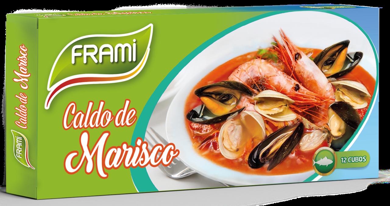 Meeresfrüchtebrühwürfel - Caldo de Marisco 12 Stück Frami