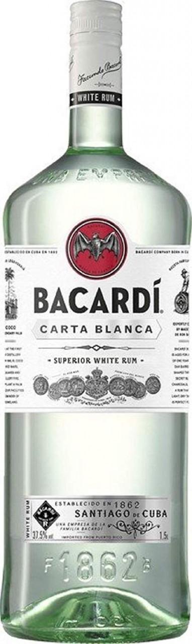 Rum Bacardi Carta Blanca Superior