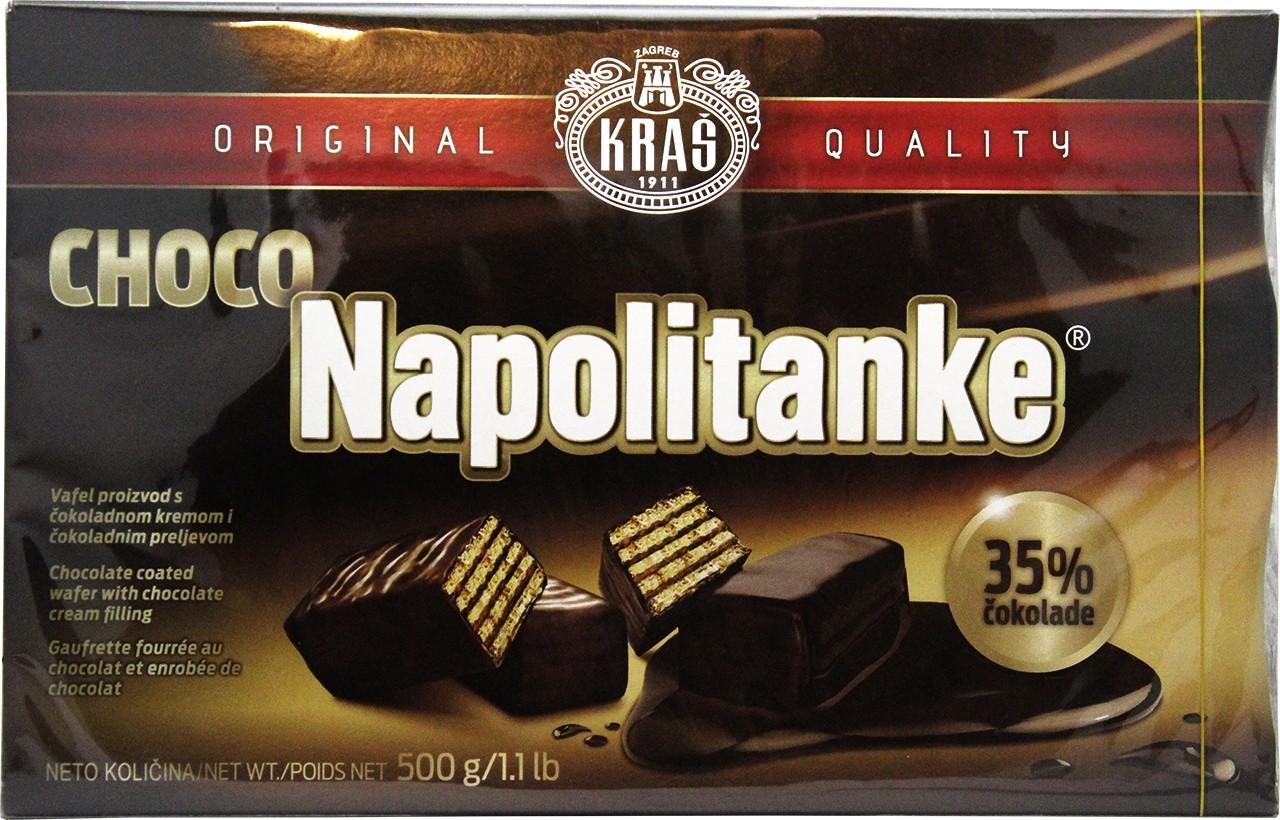 Waffeln mit Schoko - Choco Napolitanke