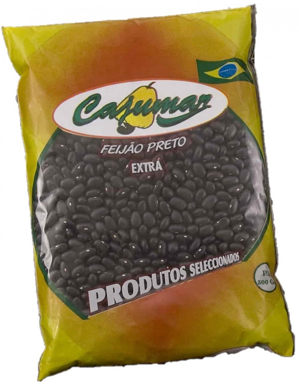 Rohe Schwarze Bohnen - Feijão Preto Seco - Cajumar - Portugal