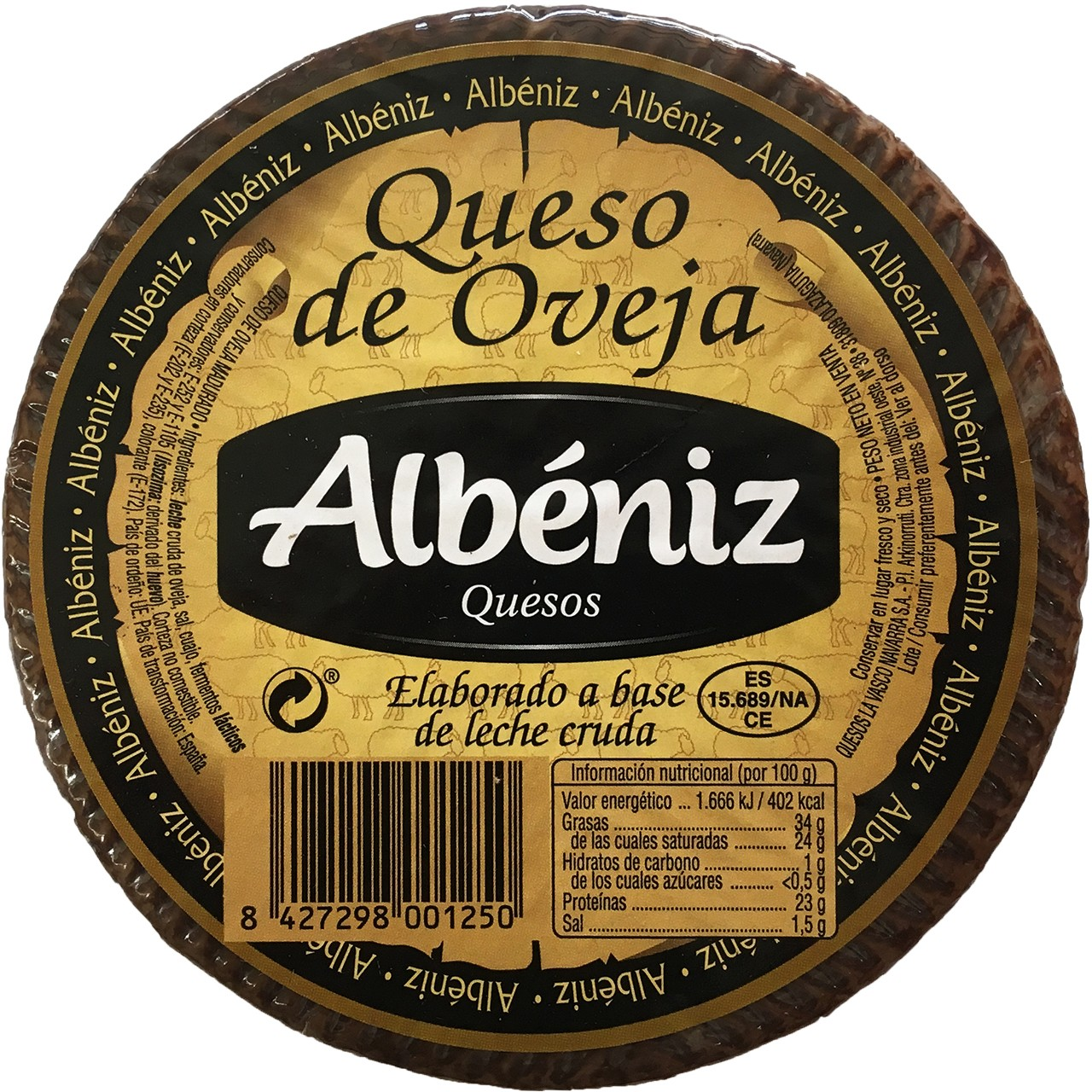 Schafskäse Albeniz 820 gr.