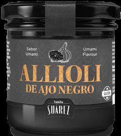 Schwarzer Knoblauch Alioli - Alioli Negro
