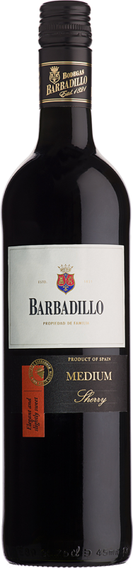 Sherry Barbadillo Medium Likörwein