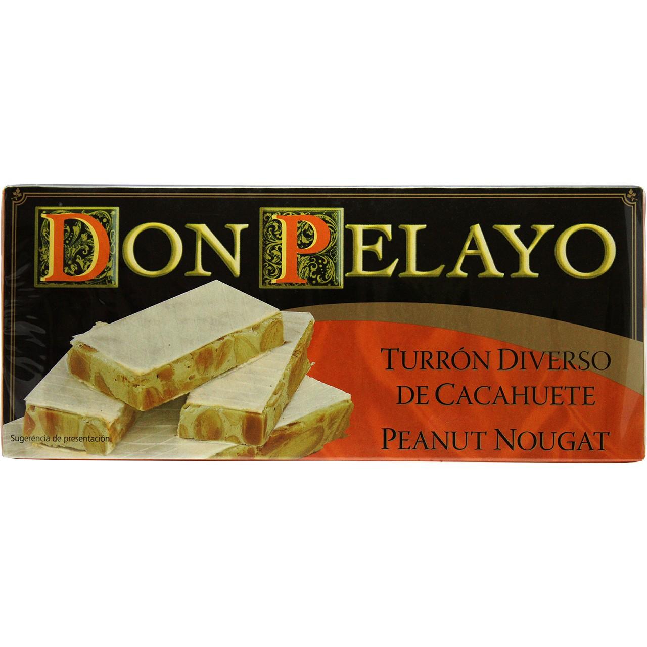 Erdnusstafel (hart) - Turrón de Cacahuete Duro