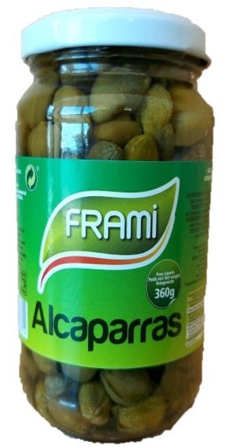 Kapern in Weinessig - Alcaparras 360gr. - Frami - Portugal