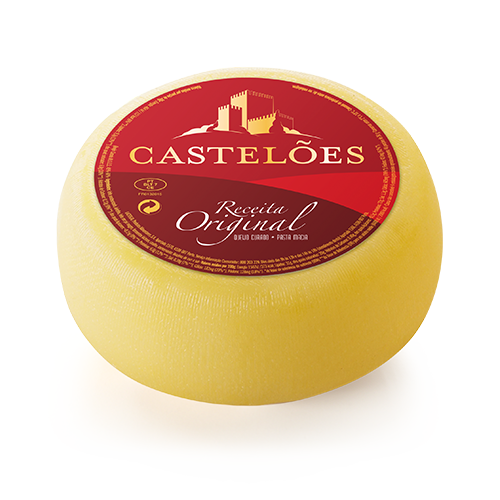 Kuhkäse Castelões 1,1 Kg - Queijo de Vaca - Portugal