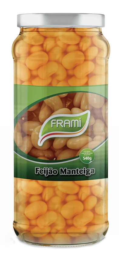 Butterbohnen gekocht - Feijão Manteiga Cozido - Frami - Portugal