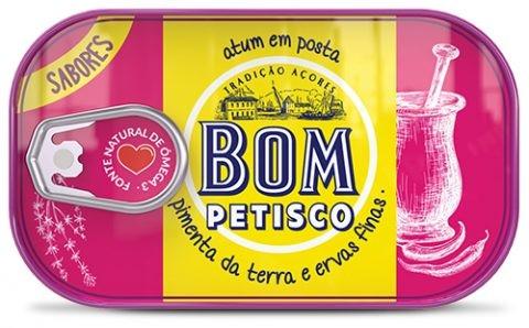 Thunfisch in Pflanzenöl mit Pfeffer und feinen Kräutern 120gr. - Bom Petisco - Portugal