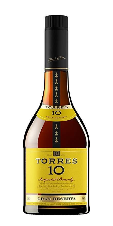 Brandy Torres 10 Imperial Gran Reserva