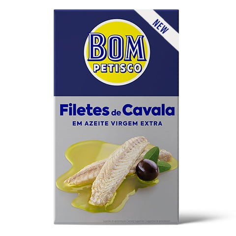 Makrelenfilet in extra nativem Olivenöl-Filetes de Cavala em Azeite virgem extra Bom Petisco 12