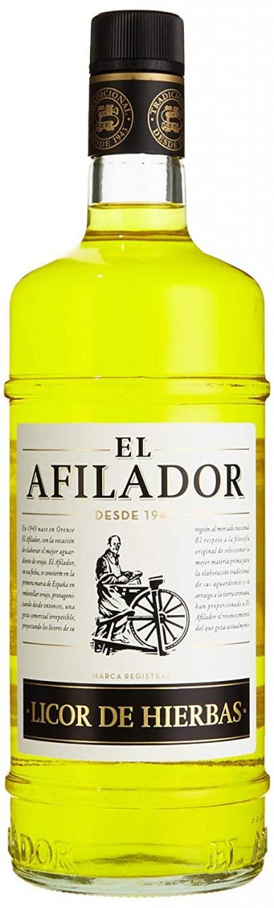 Tresterbrand mit Kräuter- Orujo de Hierbas El Afilador