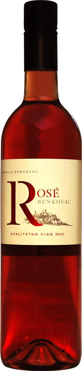 Badel Benkovac Rose 0,75 Ltr. - Rosewein - Dalmatien - Kroatien