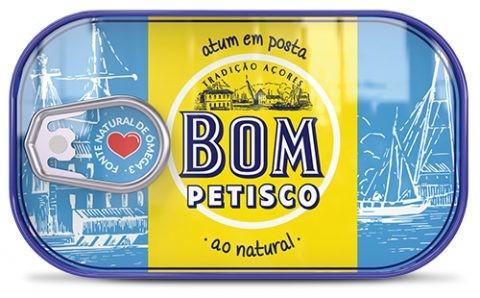Thunfisch natur - Atum ao natural 120gr. - Bom Petisco - Portugal