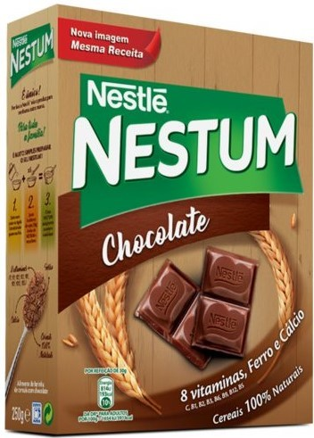 Schokolade Getreideflocken - Nestum com Chocolate