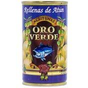 Oliven mit Thunfischpaste gefüllt - Aceitunas rellenas de Atun