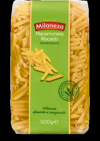 Massa Macarronete Riscado - Hartweizennudeln 500gr.