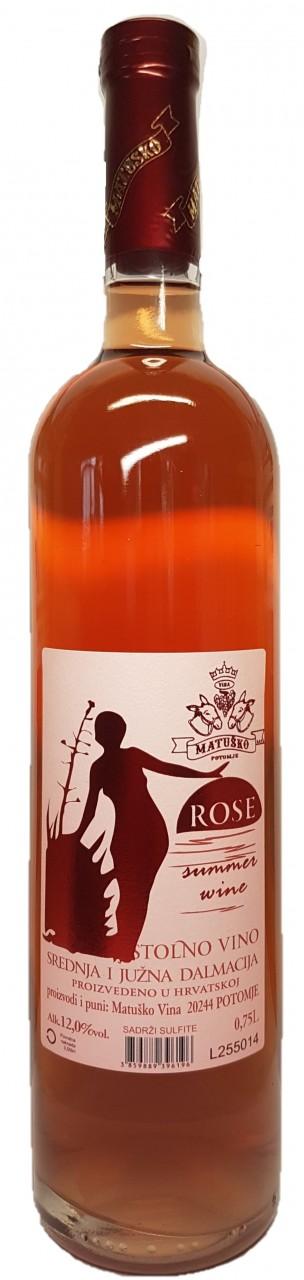 Matusko Rose Summer Wine