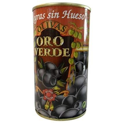 Schwarze Oliven ohne Stein - Aceitunas Negras sin Hueso