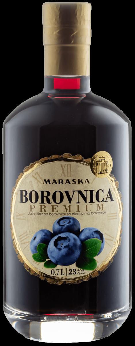 Maraska Borovnica Premium - Blaubeerlikör Premium