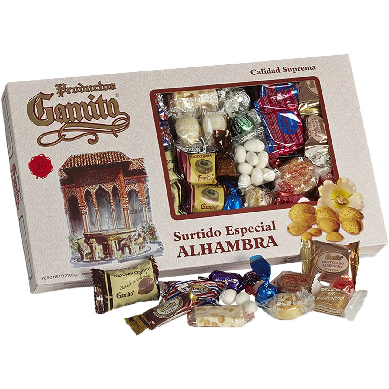 Gebäckmischung Alhambra - Surtido Especial 2,2 Kg