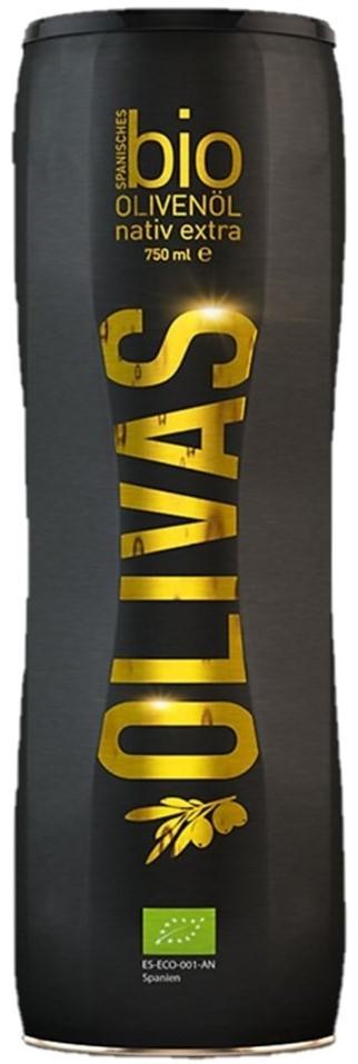 Olivas Bio-Olivenöl nativ extra