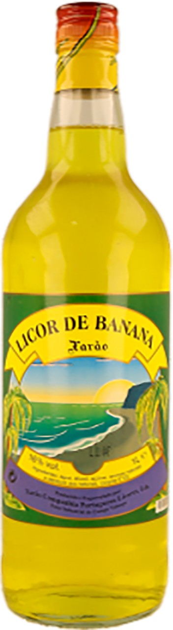 Bananenlikör - Licor de Banana - Xarão - Portugal