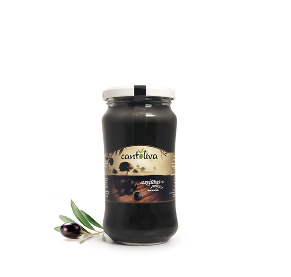 Schwarze Oliven ohne Stein - Azeitona Preta descaroçada