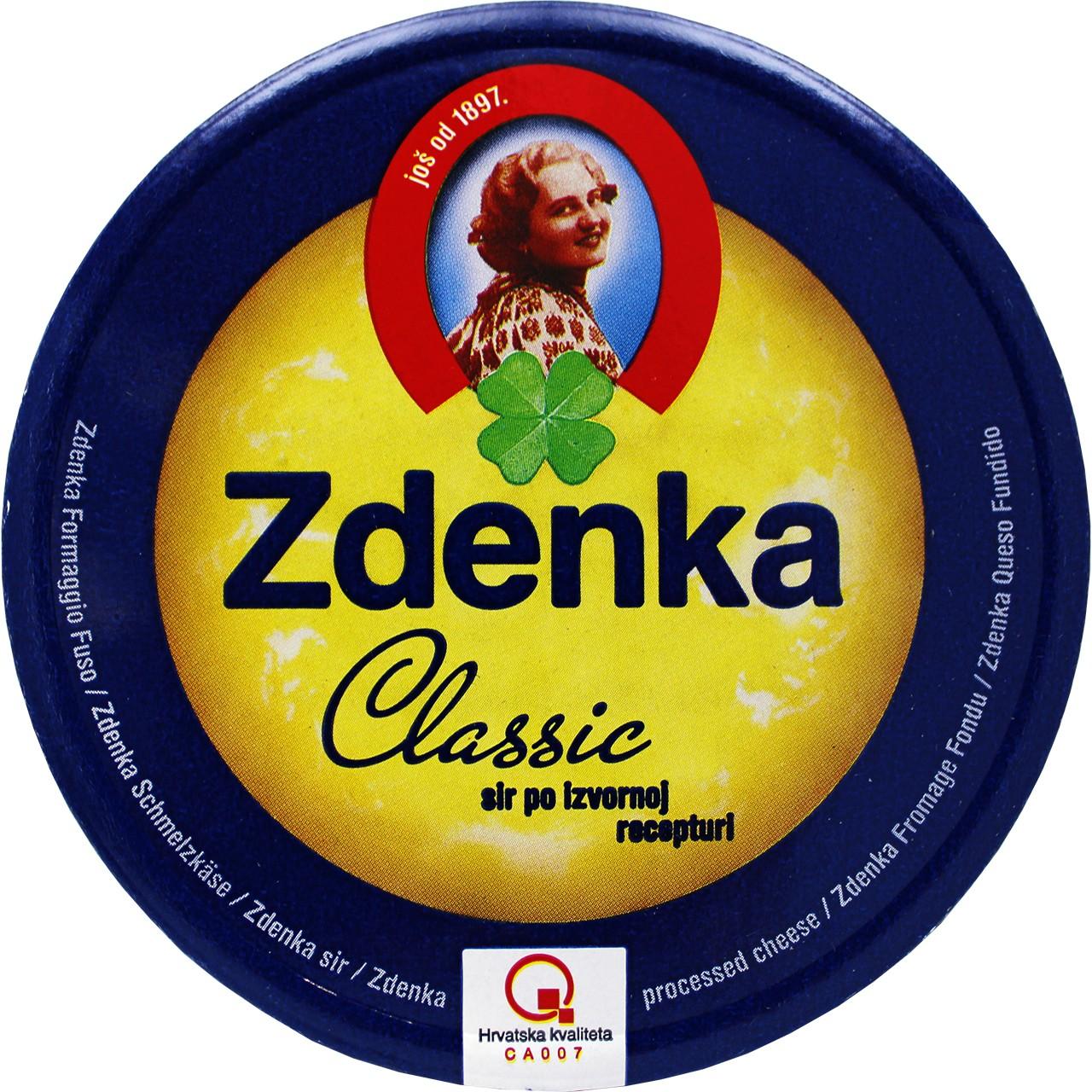 Schmelzkäse - Zdenka Classic Sir 140g