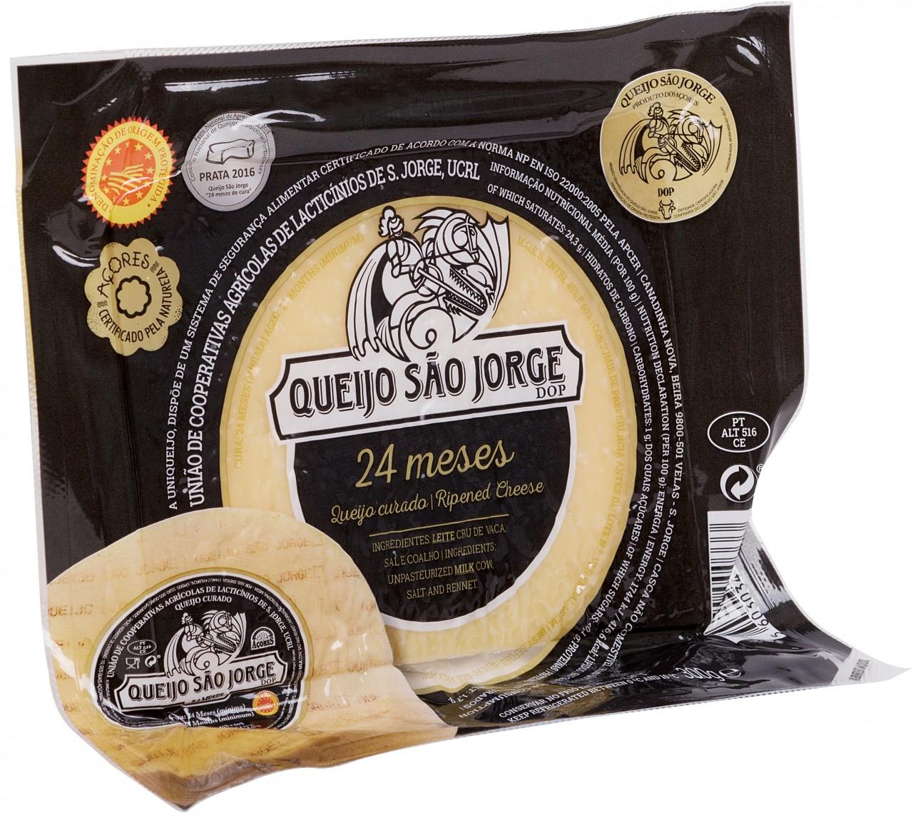 Queijo São Jorge DOP 24 Meses 300 gr. - Azoren-Käse - Portugal