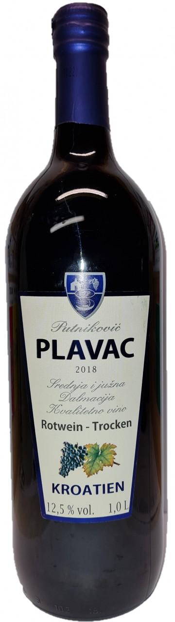 Putnikovic Plavac 1 Liter - Rotwein - Pelješac - Kroatien