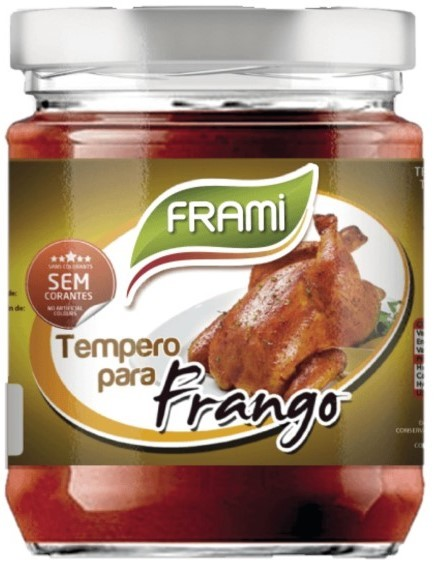 Hähnchengewürzpaste - Tempero para Frangos 200gr. - Frami - Portugal
