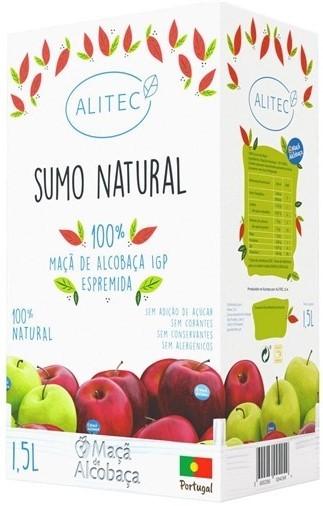 Apfeldirektsaft naturtrüb - Sumo de Maça 100% natural