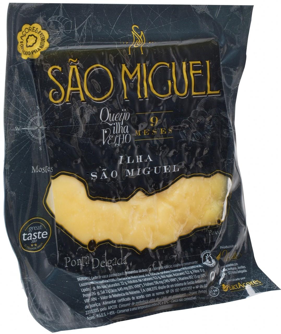 Queijo Ilha São Miguel 9 Meses 300gr. - Azoren-Käse - Portugal