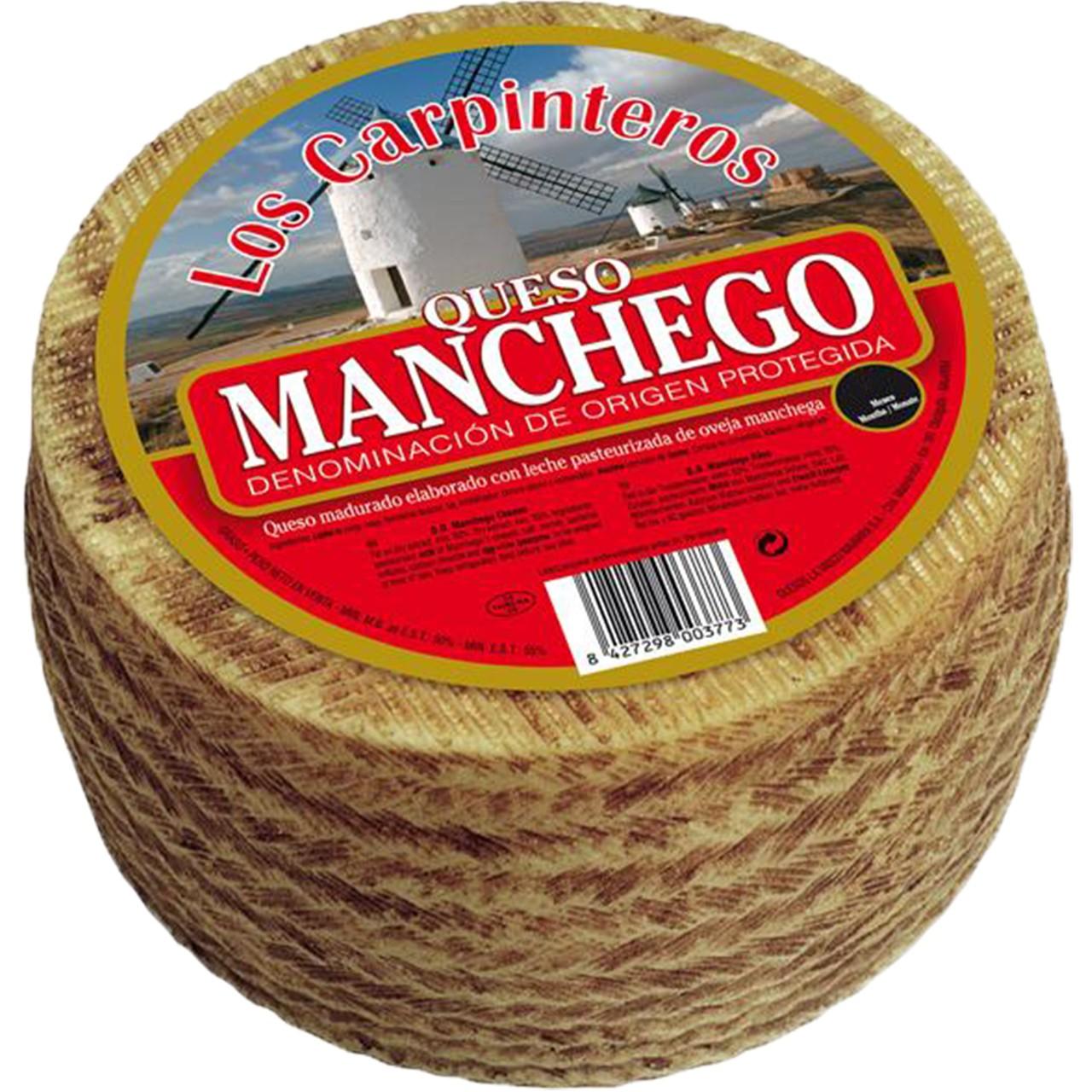Schafskäse Original Manchego D.O 1 Kg - Queso Manchego - Spanien