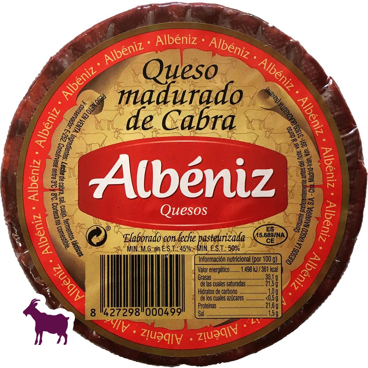 Ziegenkäse Albeniz 820 gr.