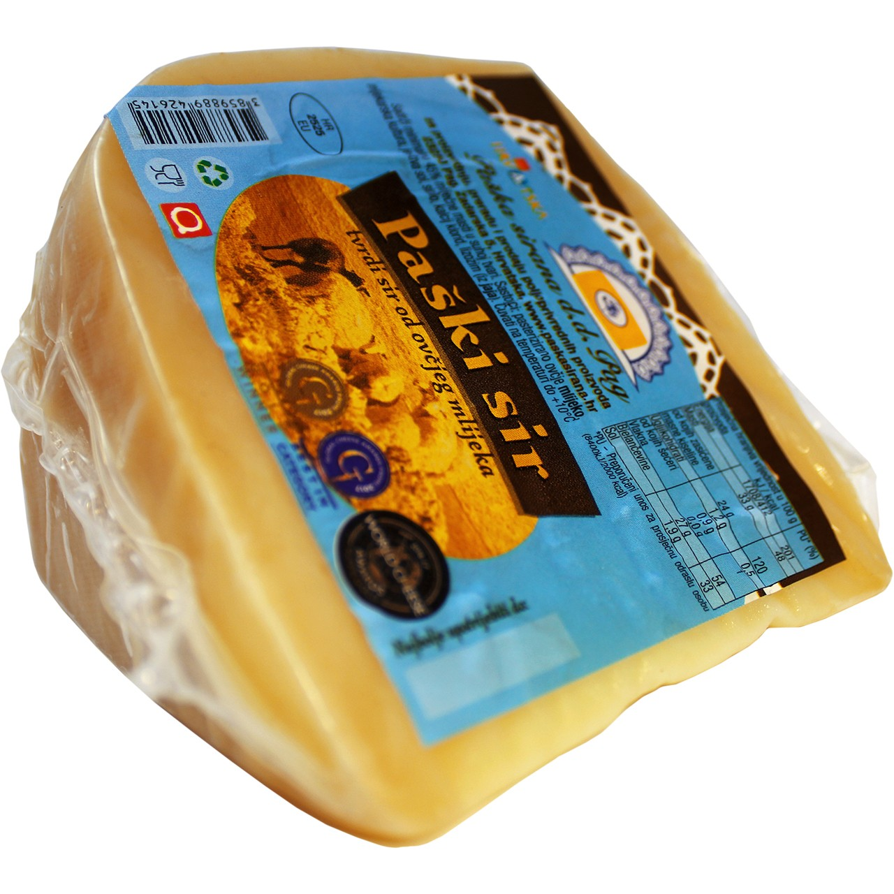 Original Schafskäse aus Pag - Paški sir Original 280g