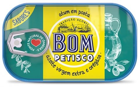 Thunfisch in extra nativem Olivenöl und Oregano 120gr. - Bom Petisco - Portugal