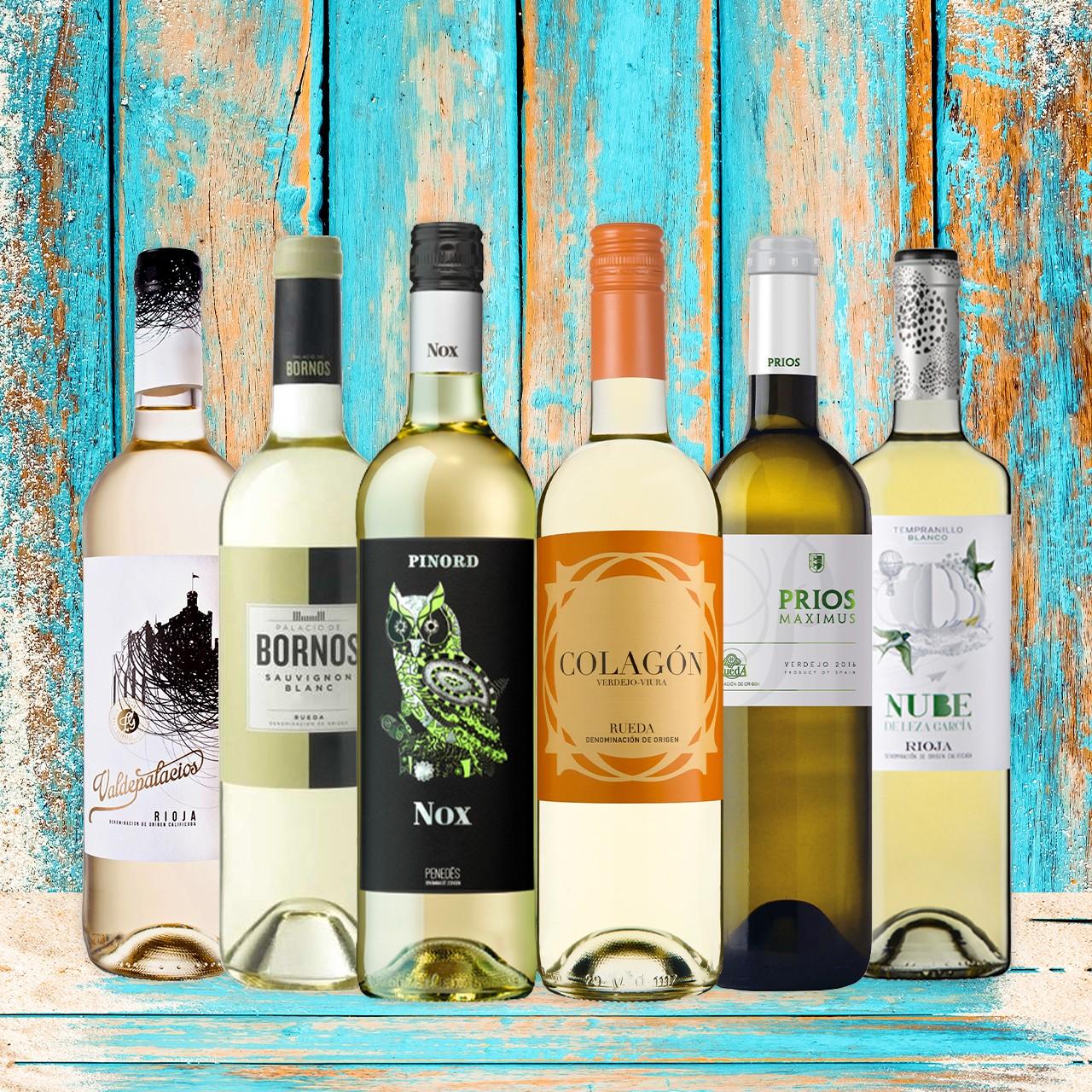 Weißwein - Probierbox Spanien