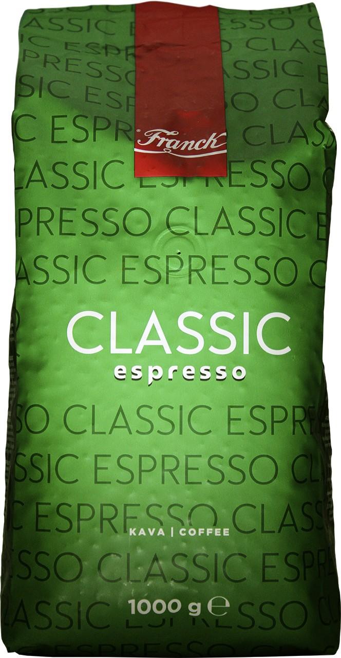 Röstkaffee Espresso Classic - Kava Classic Franck 1 Kg