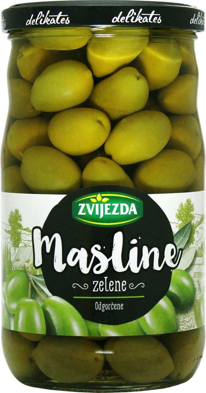 Grüne Oliven mit Stein - zelene masline - Zvijezda - Kroatien