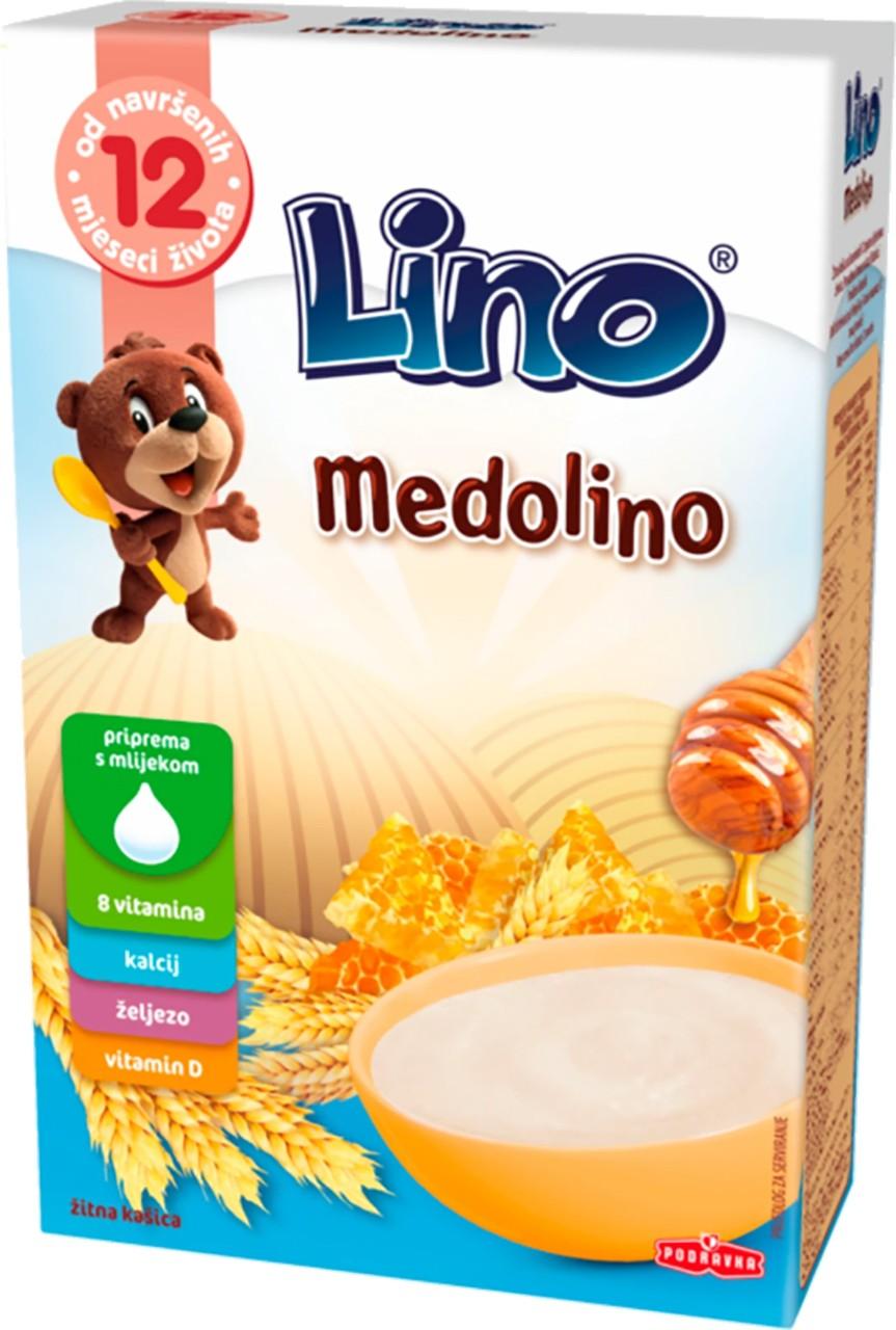 Weizenflakes mit Honig Medolino (Babybrei)