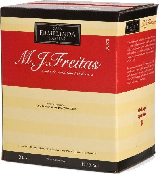 Freitas Rosé 5 Ltr. - Rosewein - Bag in Box - Setúbal - Portugal