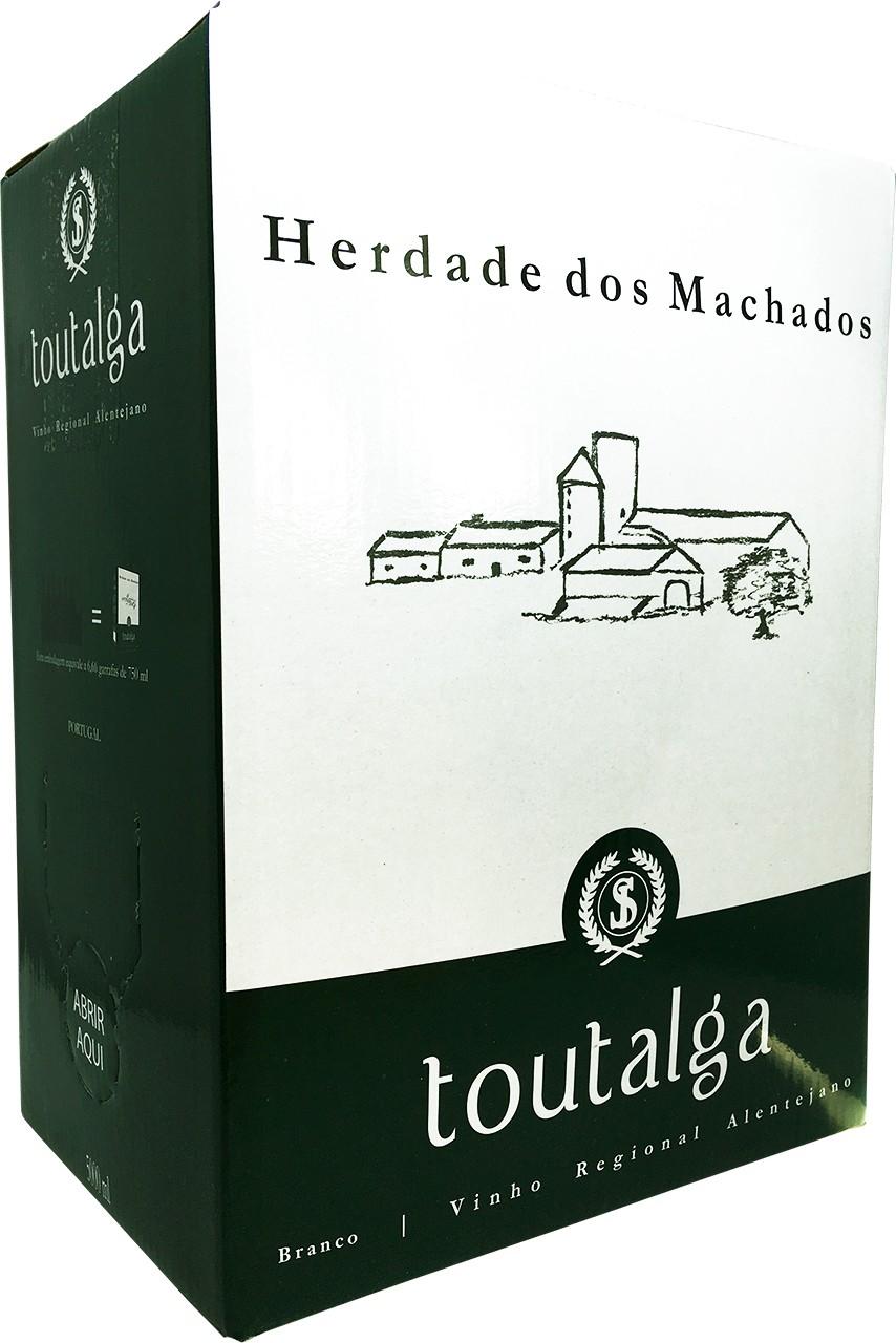 Toutalga Branco 5 Ltr.. - Weißwein - Bag in Box - Alentejo - Portugal