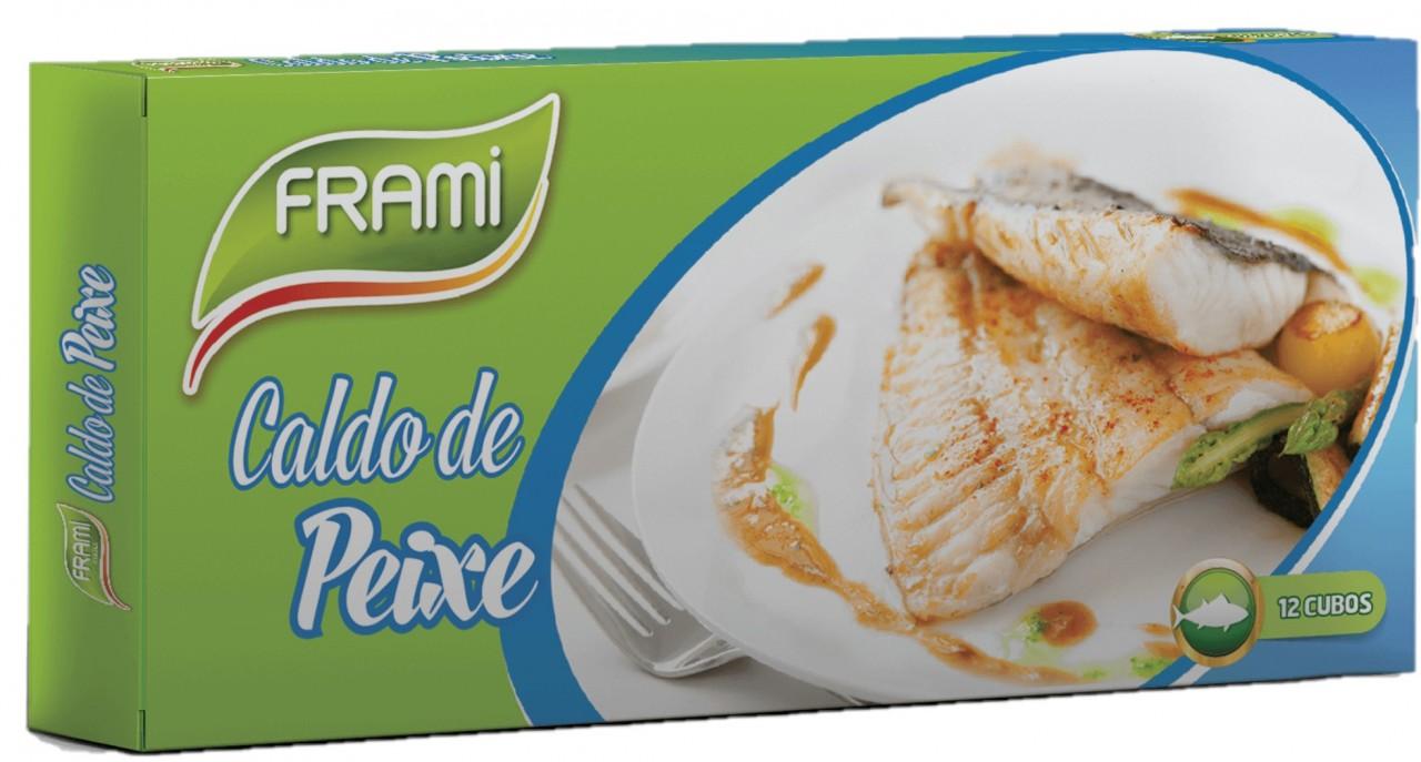 Fischbrühwürfel - Caldo de Peixe 12 Stück Frami